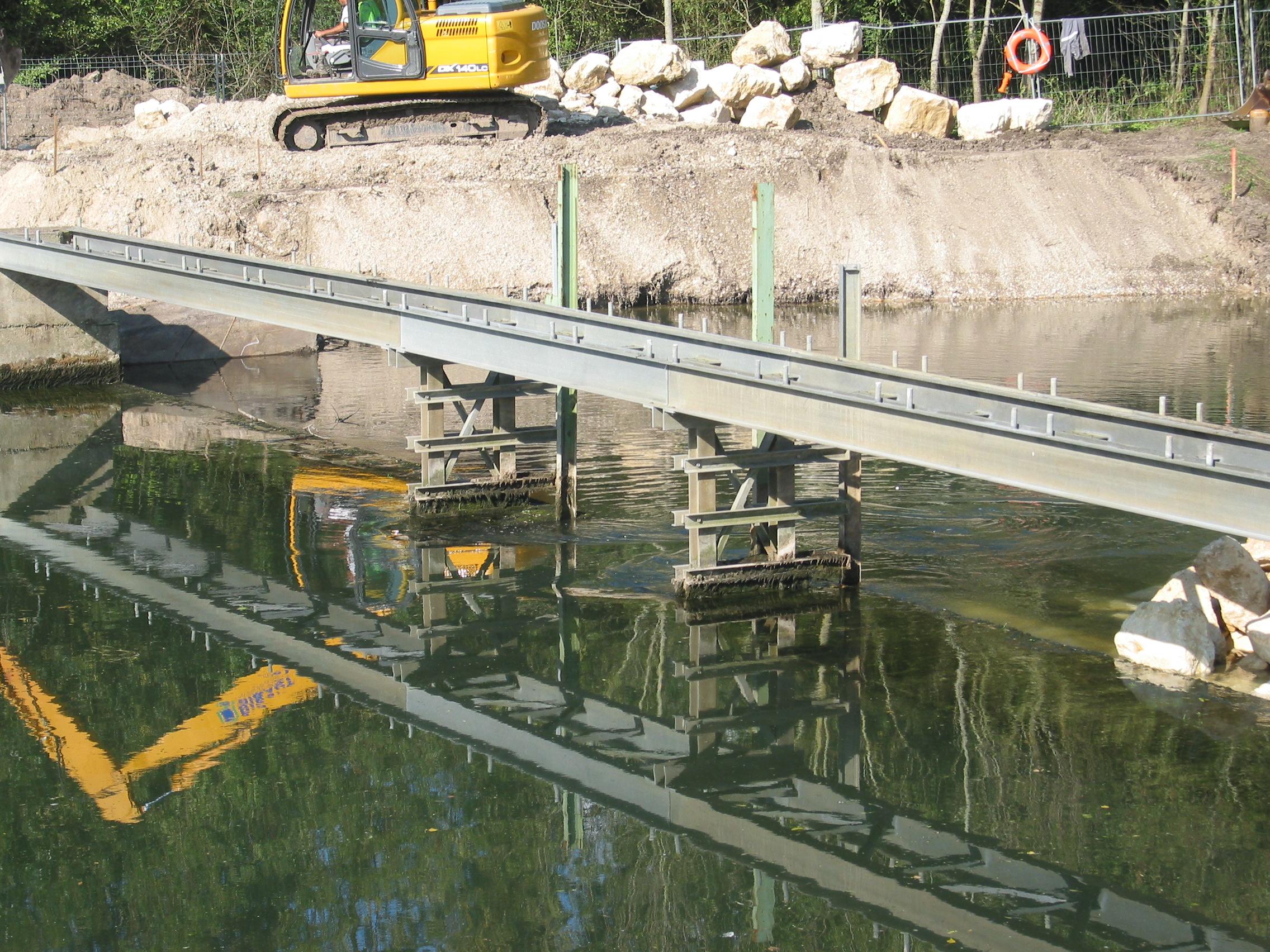 Travaux barrage préparation de détournement le 20sept 2017 003