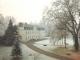 1990-Château enneigé côté Nord