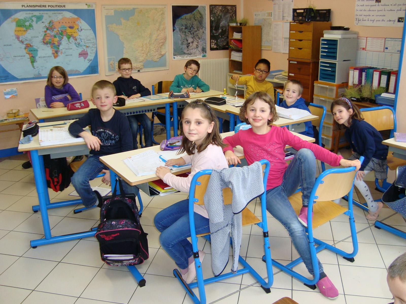 Ecole - Classe des petits