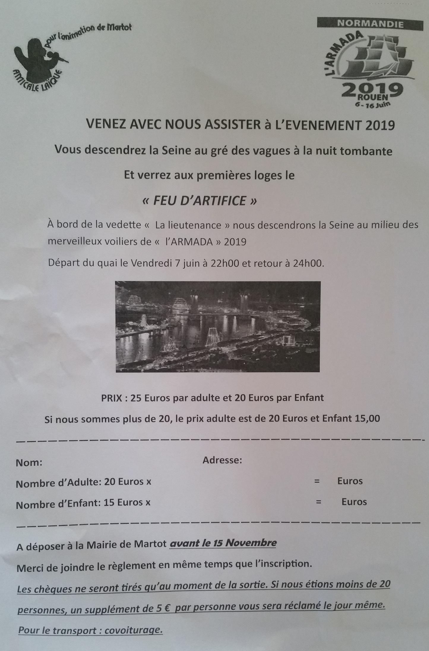 amical -armada 2019